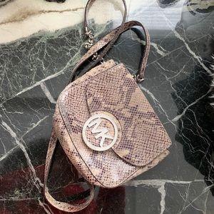 Michael Kors genuine leather Crossbody small bag